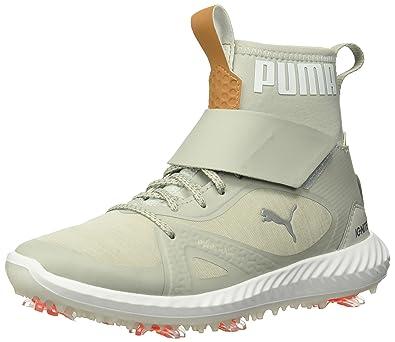 sale retailer 85e84 8cc8f PUMA Golf Boys  Ignite Pwradapt Hi-Top Kid s Golf Shoe, Gray Violet