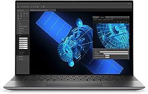 Dell Precision 5750, 17 inch UHD+ Touch Laptop - Intel Core i7-10750H, 32GB DDR4 RAM, 512GB SSD HD, Nvidia Quadro RTX 3000 6GB, Windows 10 Pro - Silver