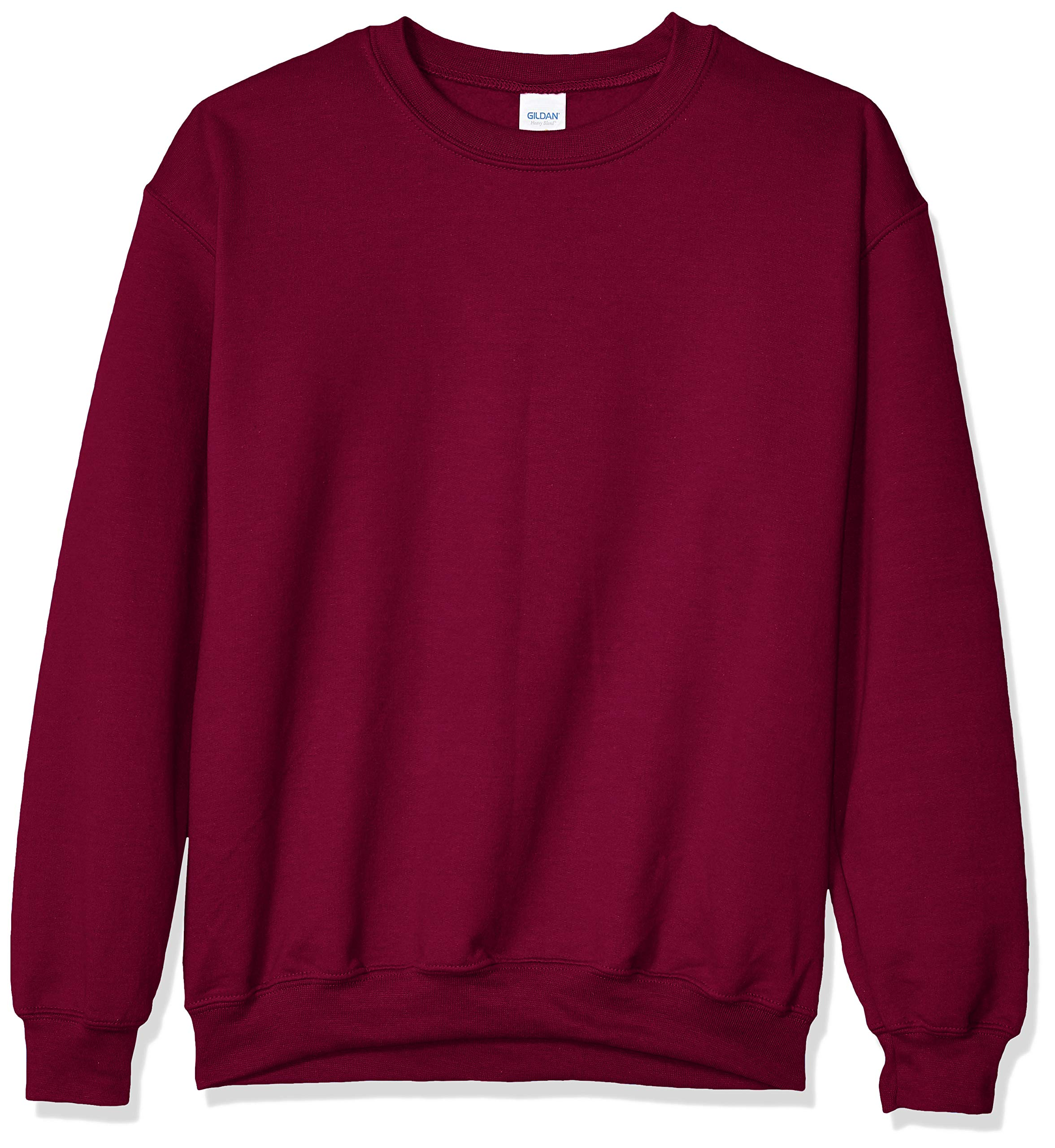 Gildan Men's Fleece Crewneck Sweatshirt, Maroon, 3X-Large by Gildan