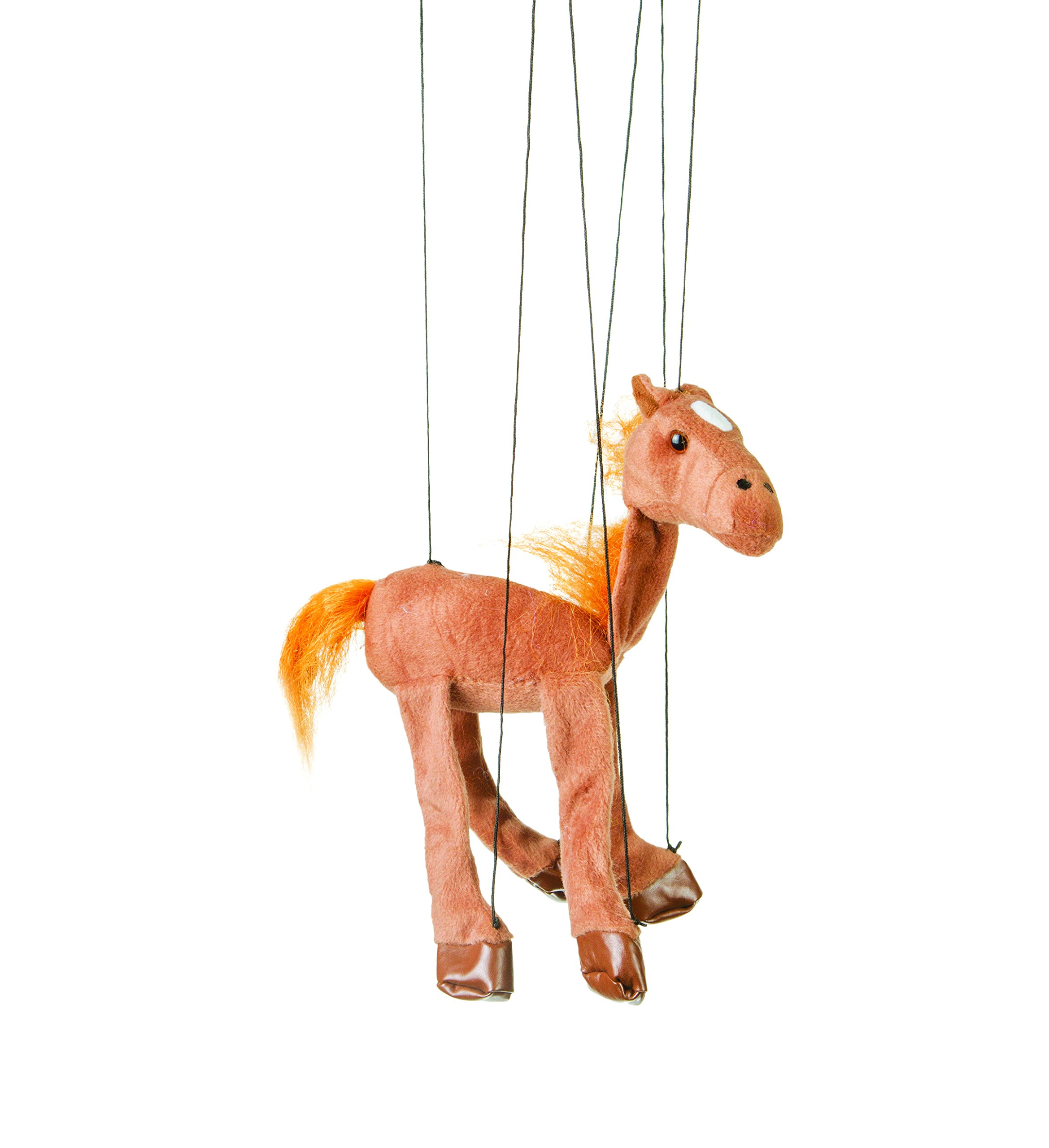 Globee Sunny Toys 16'' Baby Brown Horse Marionette