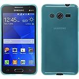 PhoneNatic Custodia Samsung Galaxy Core 2 Cover turchese trasparente Galaxy Core 2 in silicone + pellicola protettiva