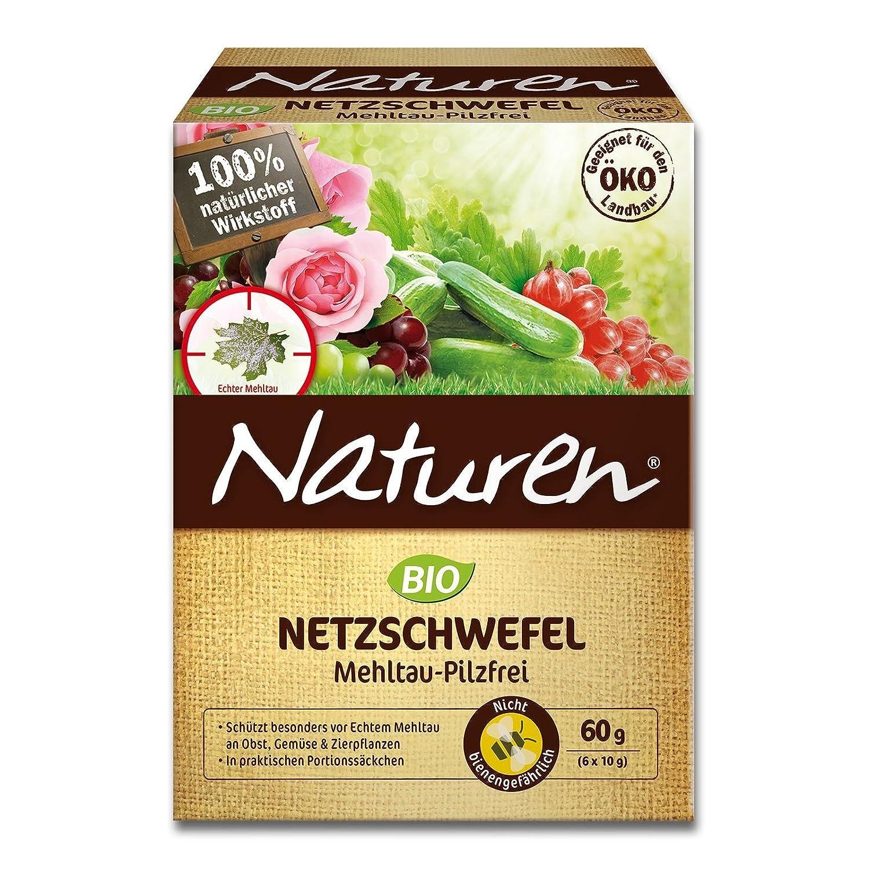 NATUREN Bio Netzschwefel Mehltau-Pilzfrei 60 g