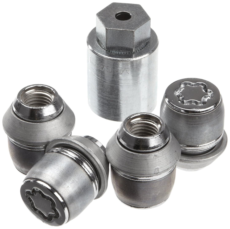 McGard 24212SL Ultra High Security - Tuercas antirrobo para ruedas (base có nica, M12 x 1,5, largo 35,0 mm, SW21)