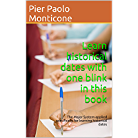 Learn historical dates with one blink in this book: The Major System applied specifically for learning historical dates (English Edition)