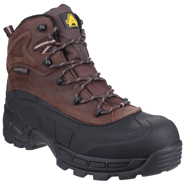 Chaussures de sécurité Amblers Steel FS32 pour homme (50 EUR) (Noir) i6j02jwUz
