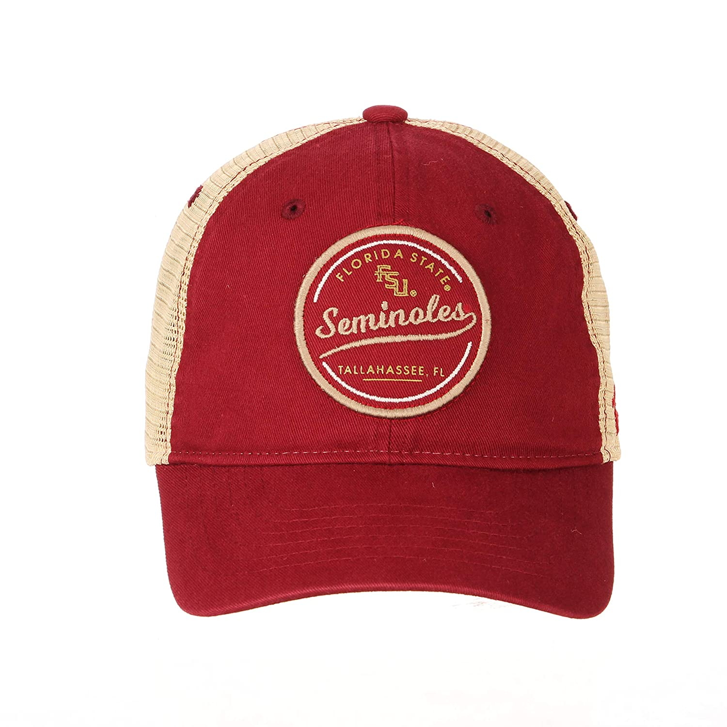 Adjustable Primary Team Color NCAA Zephyr Florida State Seminoles Mens Lager Relaxed Hat