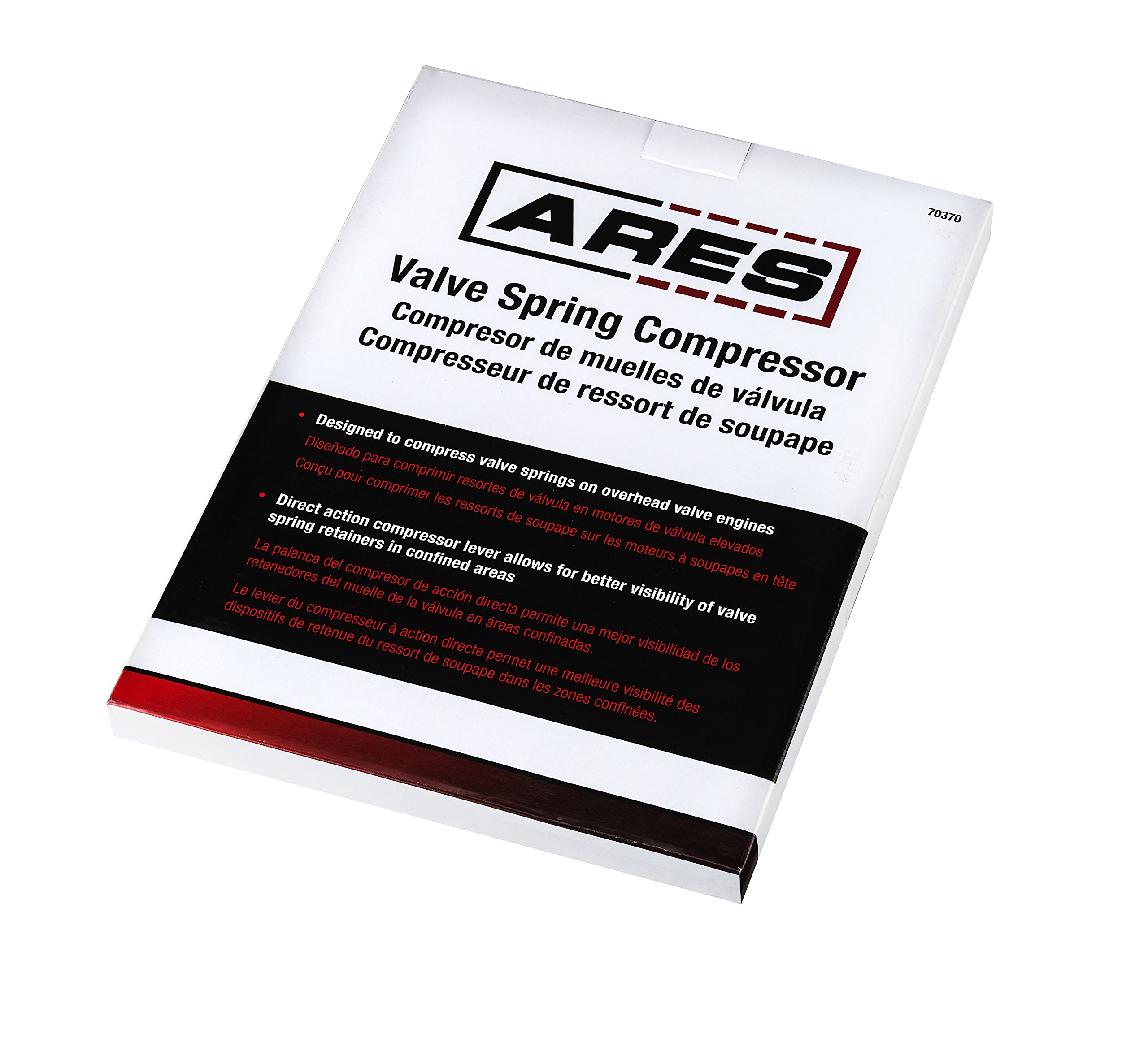 ARES 70370   Valve Spring Compressor   Compresses Valve Springs on Overhead Valve Engines   Direct Action Compressor Lever Gives Better Visibility During Valve Spring Compression by ARES (Image #5)