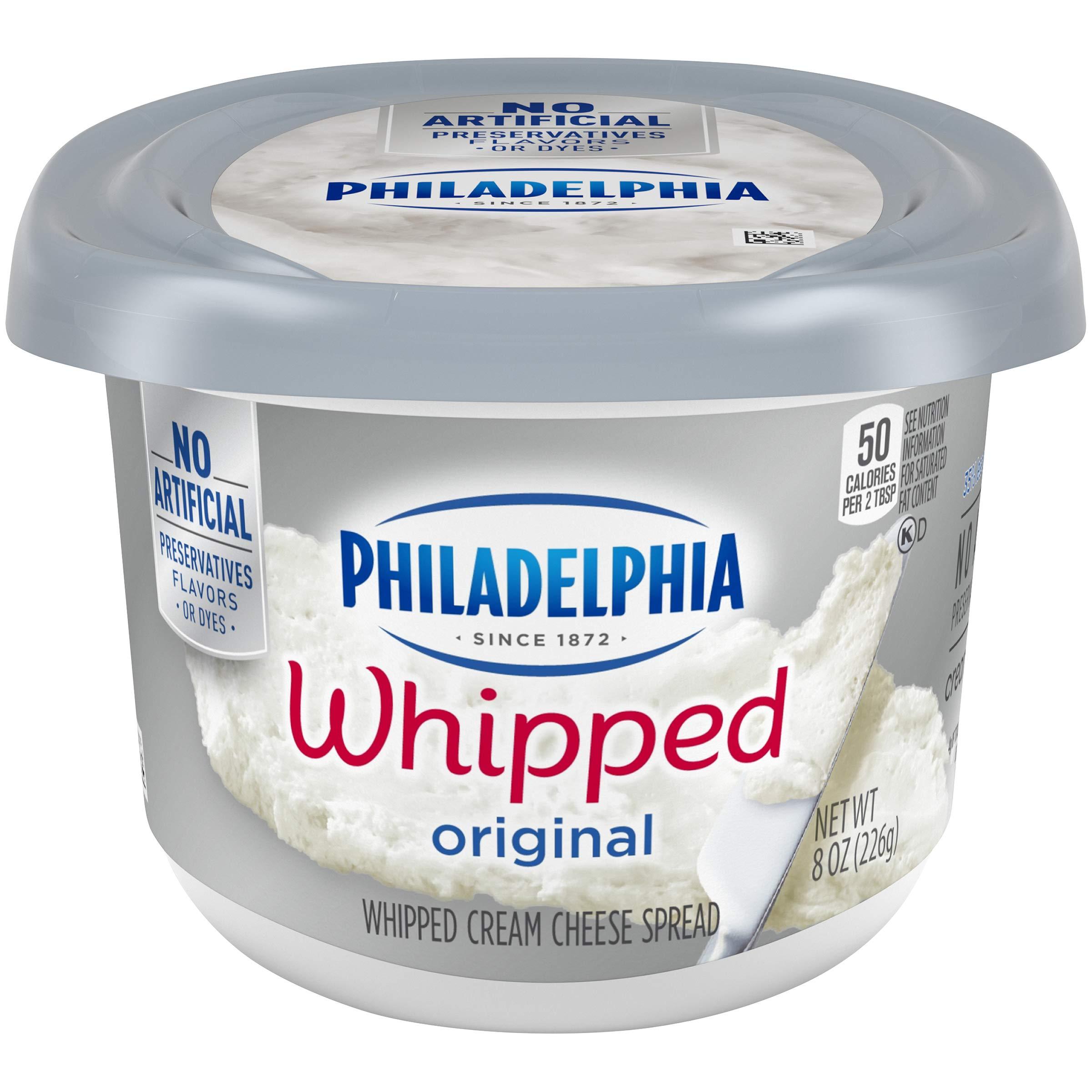 Philadelphia, Cream Cheese, Whipped, 8 oz