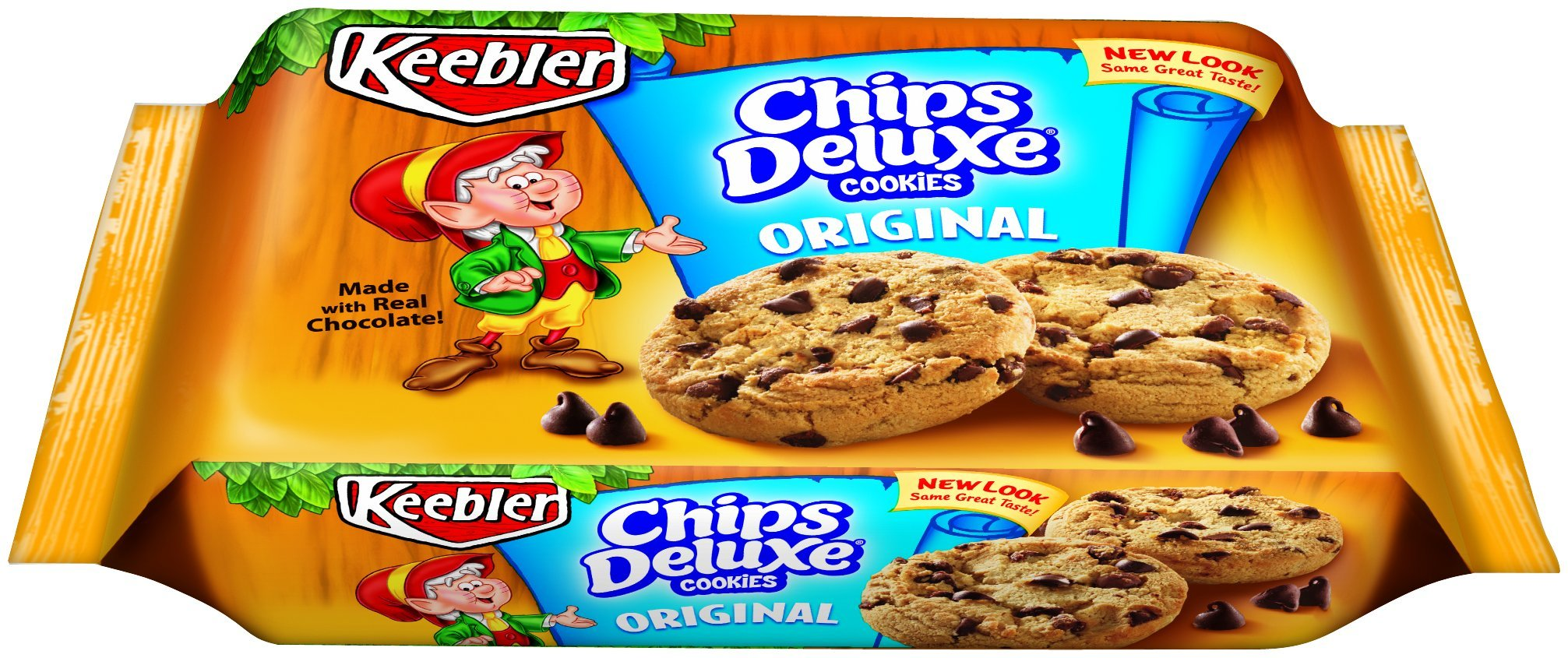 Keebler Original Chips Deluxe Cookies, 14.5 Ounce (Pack of 4) by Keebler