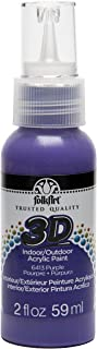 product image for FolkArt 3D Acrylic Paint in Assorted Colors (2 oz), Purple