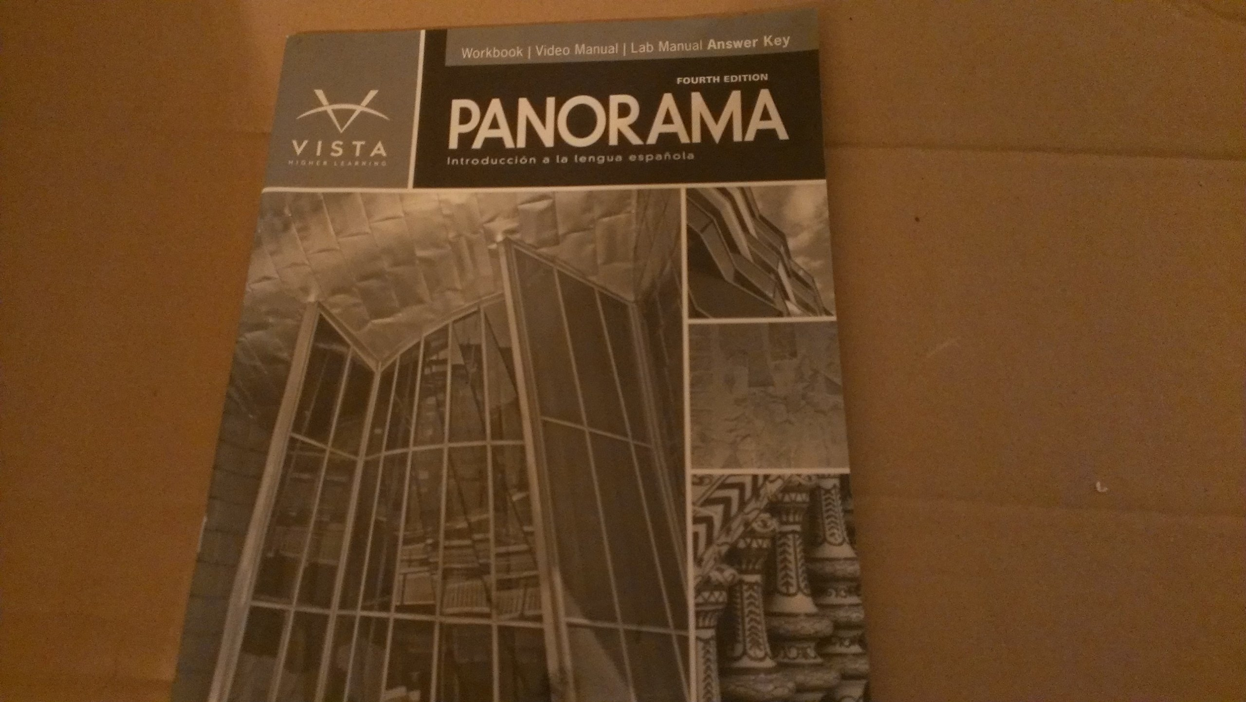 panorama 4th ed workbook video lab manual answer key vhl rh amazon com Ergonomic Slogans Vista Lab Machine