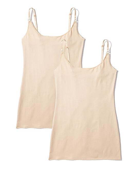 Iris & Lilly Damen Unterhemd, 2er Pack