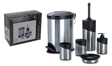 Scopino Da Bagno Design : Set da pezzi da bagno design elegante in acciaio inox set