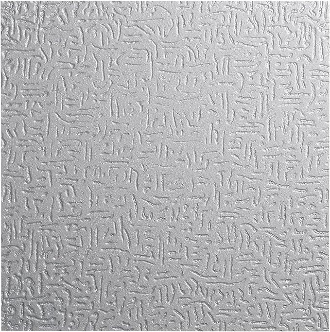 blanc 50 x 50 cm Decosa Dalle de plafond Malaga PRIX SPECIAL LOT DE 2 SACHETS = 4m2