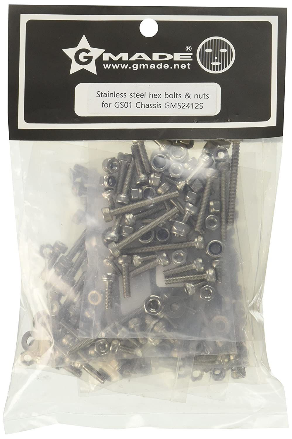 Gmade Stainless Steel Hex Bolts Model Kit HRP Distribution GMA52412S