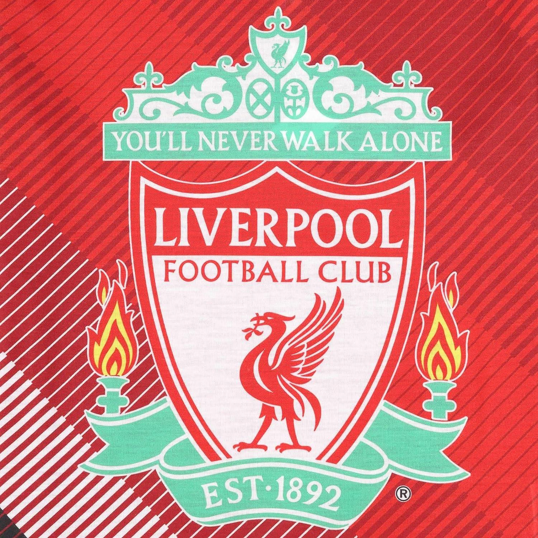 Liverpool FC Official Football Gift Boys Sublimation Long Pyjamas