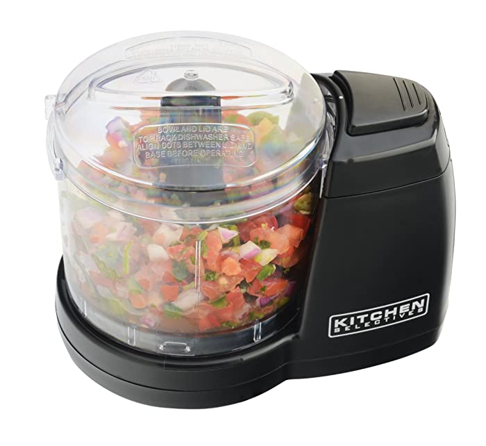 Kitchen Selectives MC-6BL Kitchen Selectives Mini Chopper, Black