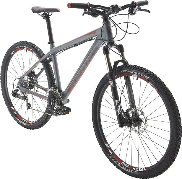 Berg Bikes Bicicleta Montaña Gris/Rojo L: Amazon.es: Deportes y aire libre