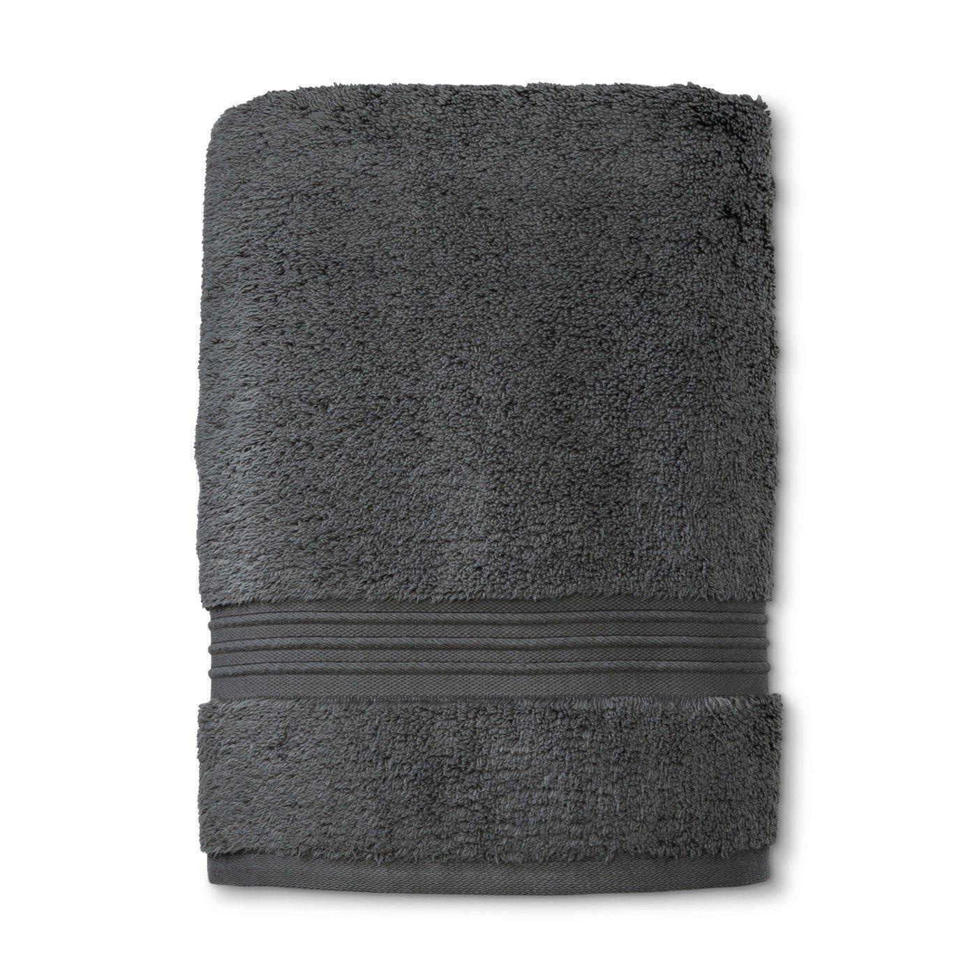 Fieldcrest Spa Molten Lead Bath Towel 30x56