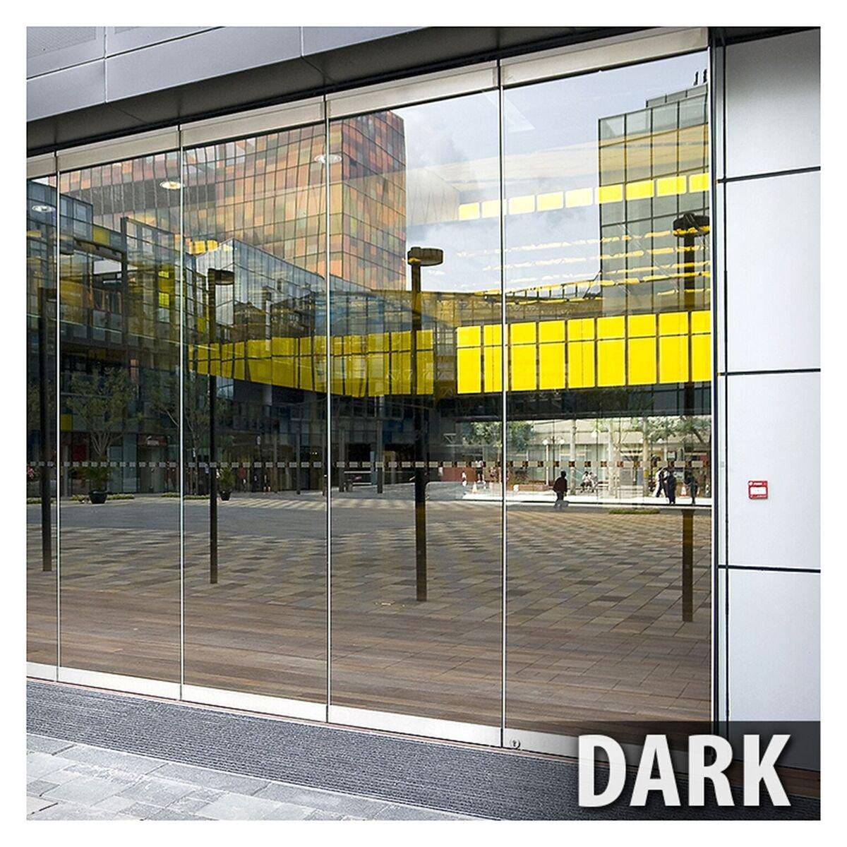 Bdf Rprgy Window Film Premium One Way Mirror Privacy Kaca Oneway Silver Gray Very Dark 24in X 9ft Home Improvement