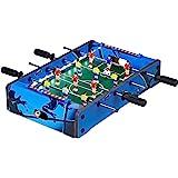 Futbolín de sobremesa portátil mini para diversión en familia con niños y adultos, ideal para bares y salas de juego: Amazon.es: Deportes y aire libre