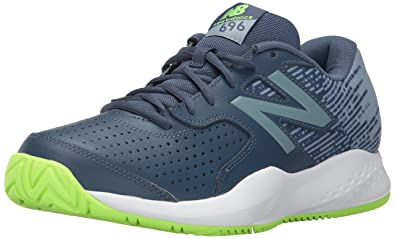 the latest 15509 61fb1 Image Unavailable. Image not available for. Colour  new balance Men s 696  V3 Pigment Tennis Shoes ...