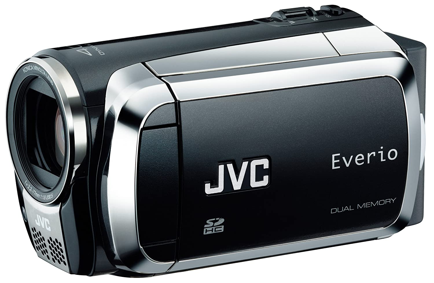 Amazon.com : JVC Home JVC Everio MS130 16GB Dual Flash Camcorder (Black)  (Discontinued by Manufacturer) : Jvc Dual Memory Everio Camcorder : Camera  & Photo