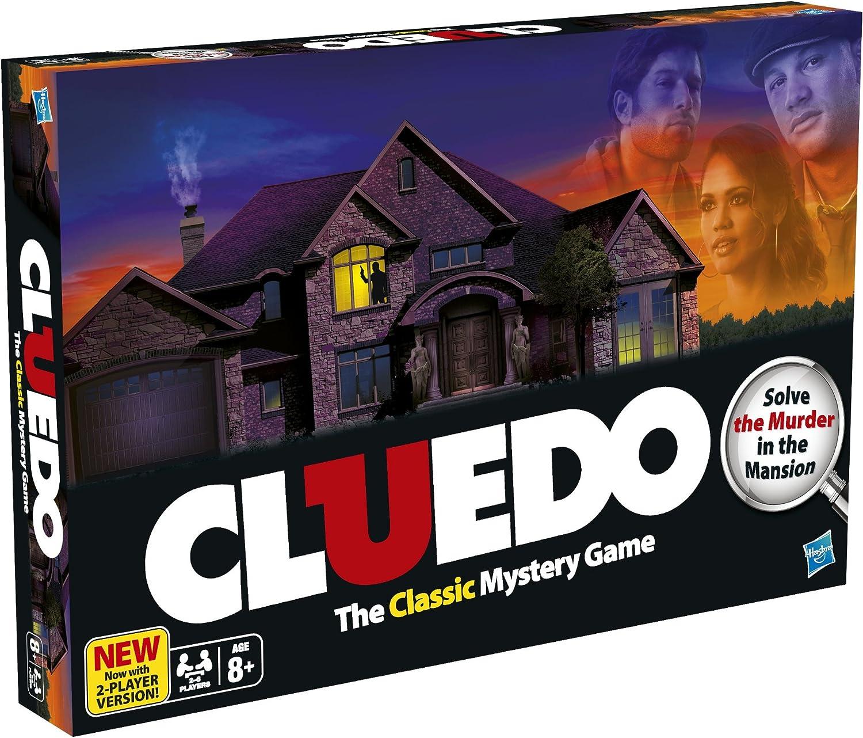 Cluedo - Juego de Misterio (Hasbro 38712) (versión en inglés): Amazon.es: Juguetes y juegos