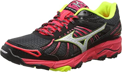 Mizuno Wave Mujin 3 - Zapatillas de running Mujer, DarkShadow/Silver/DivaPink, 40.5: Amazon.es: Zapatos y complementos