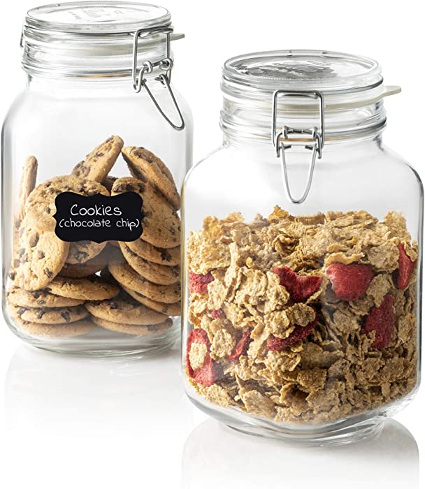 The Best Glass Food Jars With Hinge Lids