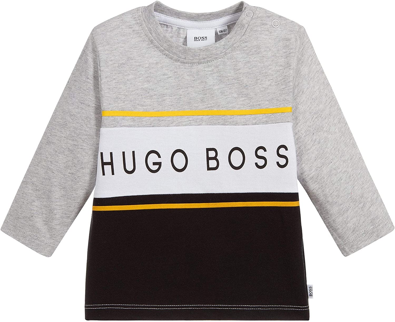 BOSS Hugo Camiseta de Manga Larga Hugo: Amazon.es: Ropa y accesorios