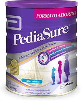 PediaSure - Complemento Alimenticio para Niños con Proteínas, Vitaminas y Minerales, Sabor Vainilla - 850 gr [versión antigua]