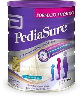 PediaSure Polvo lata 850g sabor vainilla. Alimento completo y equilibrado para niños a partir de