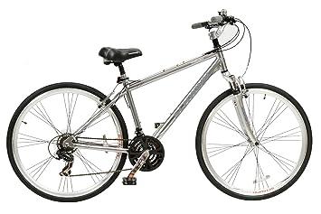 Schwinn Trailway Men's Aluminium Hybrid Bike - Dark Grey