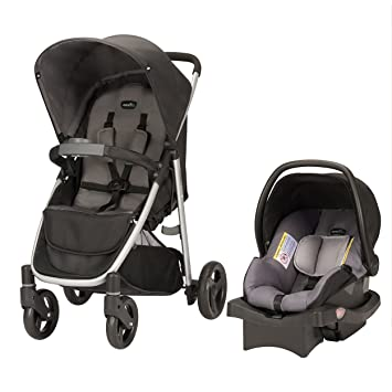 Amazon.com : Evenflo Flipside Travel System, Glenbarr Gray : Baby