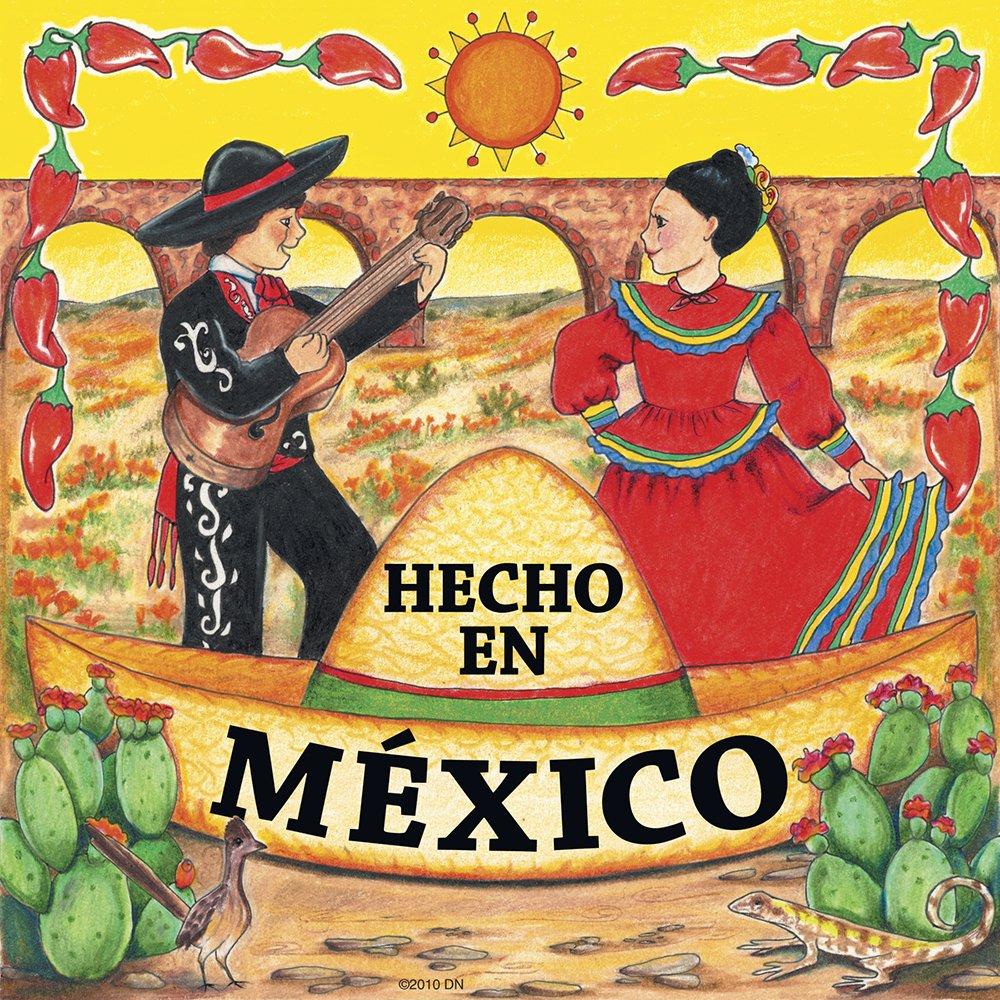 Amazon.com: Mexican Gift Hecho En Mexico Wall Plaque: Home & Kitchen