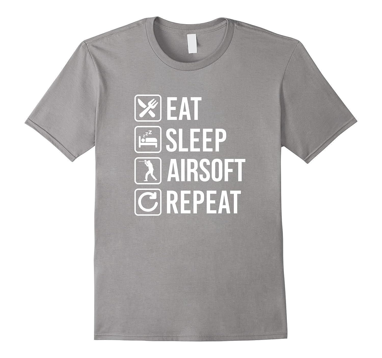 Airsoft Eat Sleep Repeat T-Shirt-TD