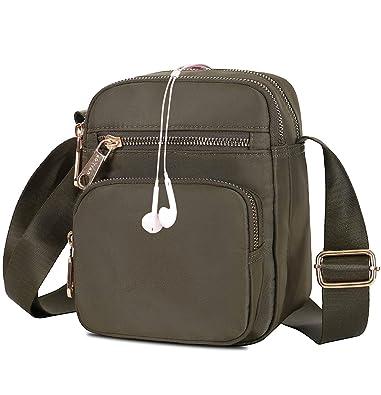 Amazon.com: Bolso bandolera pequeño para mujer, mini bolso ...