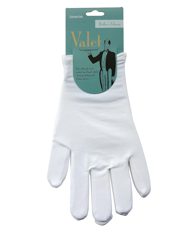 Baumwollhandschuhe 12 Paar Handschuhe Gr 8-9 weiss Größe M Servierhandschuhe