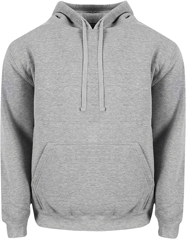 Shaka Wear Mens Heavy Weight Fleece Pullover Hoodie Sweatshirt
