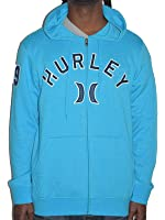 Hurley Hoodie Men's Zip-Up Seti Fleece Heather
