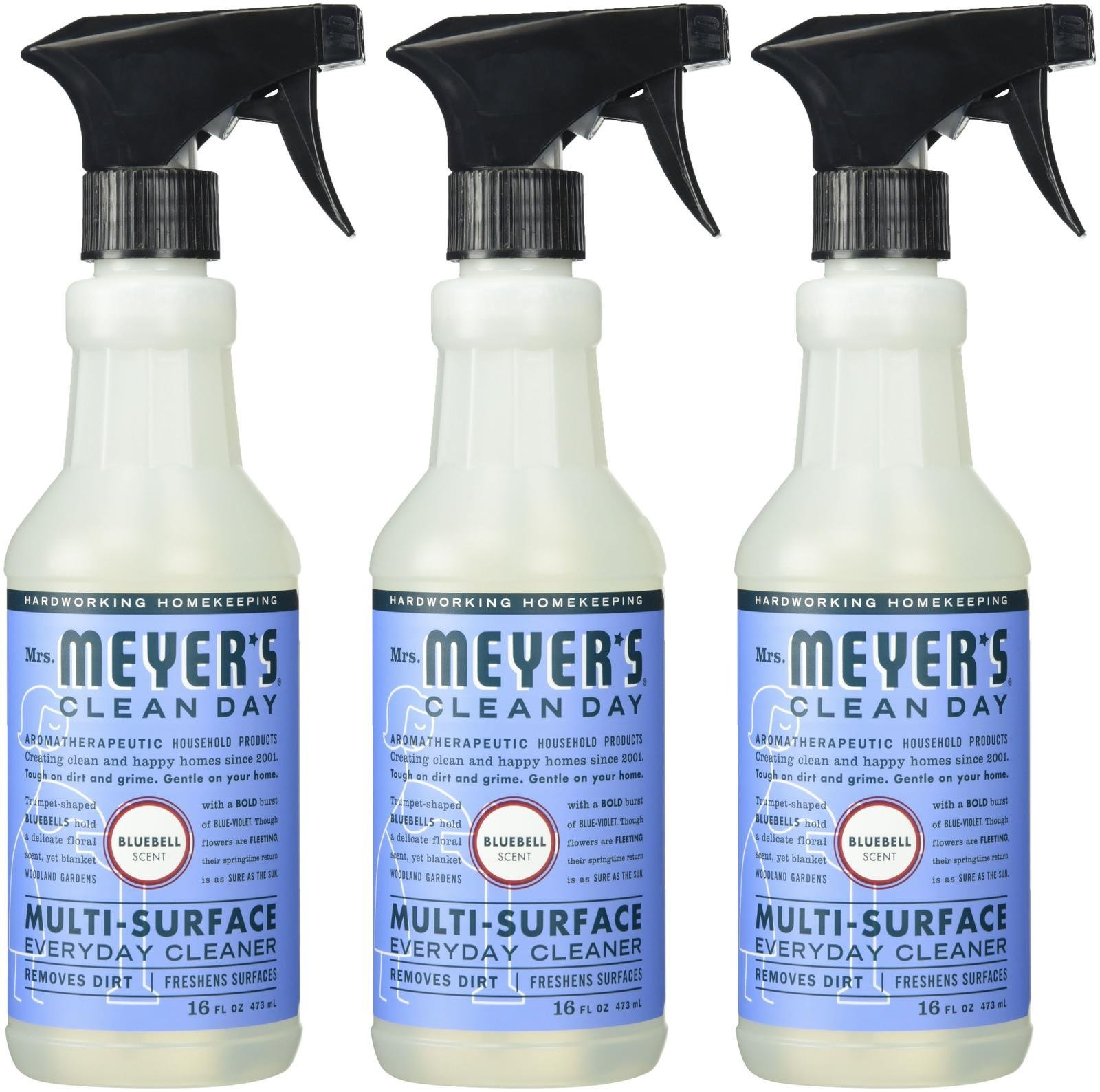 Mrs. Meyer's Clean Day Multi-Surface Everyday Cleaner - 16 oz - Bluebell - 3 Pack by Mrs. Meyer's Clean Day