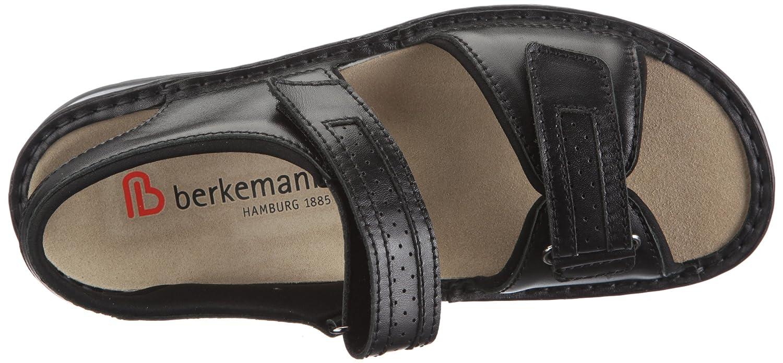 Berkemann Fabian 05802-901 05802-901 Fabian Herren Sandalen Schwarz d64799