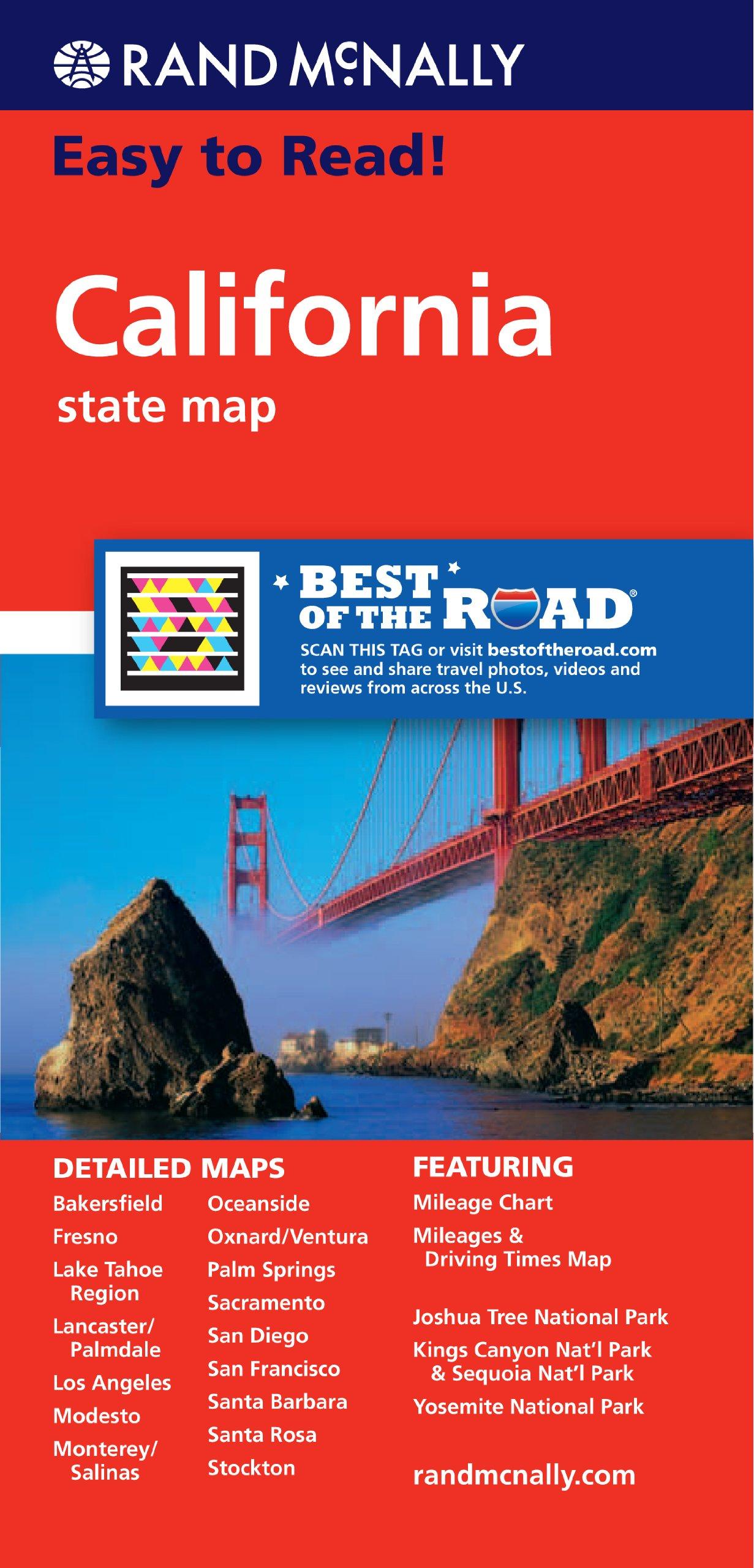 Rand McNally Easy California State