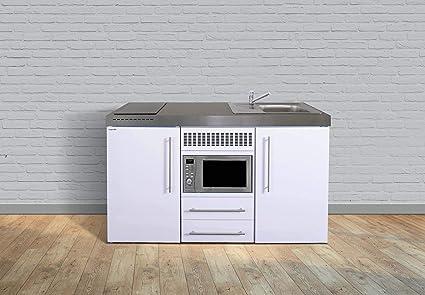 Miniküche Mit Kühlschrank Gebraucht : Stengel steel concept miniküche premiumline mpm u weiss