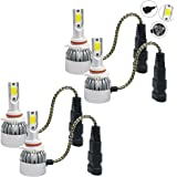 Mega Racer 9006 HB4 9005 HB3 CREE COB C6 LED (Low/Hi Beam Headlight