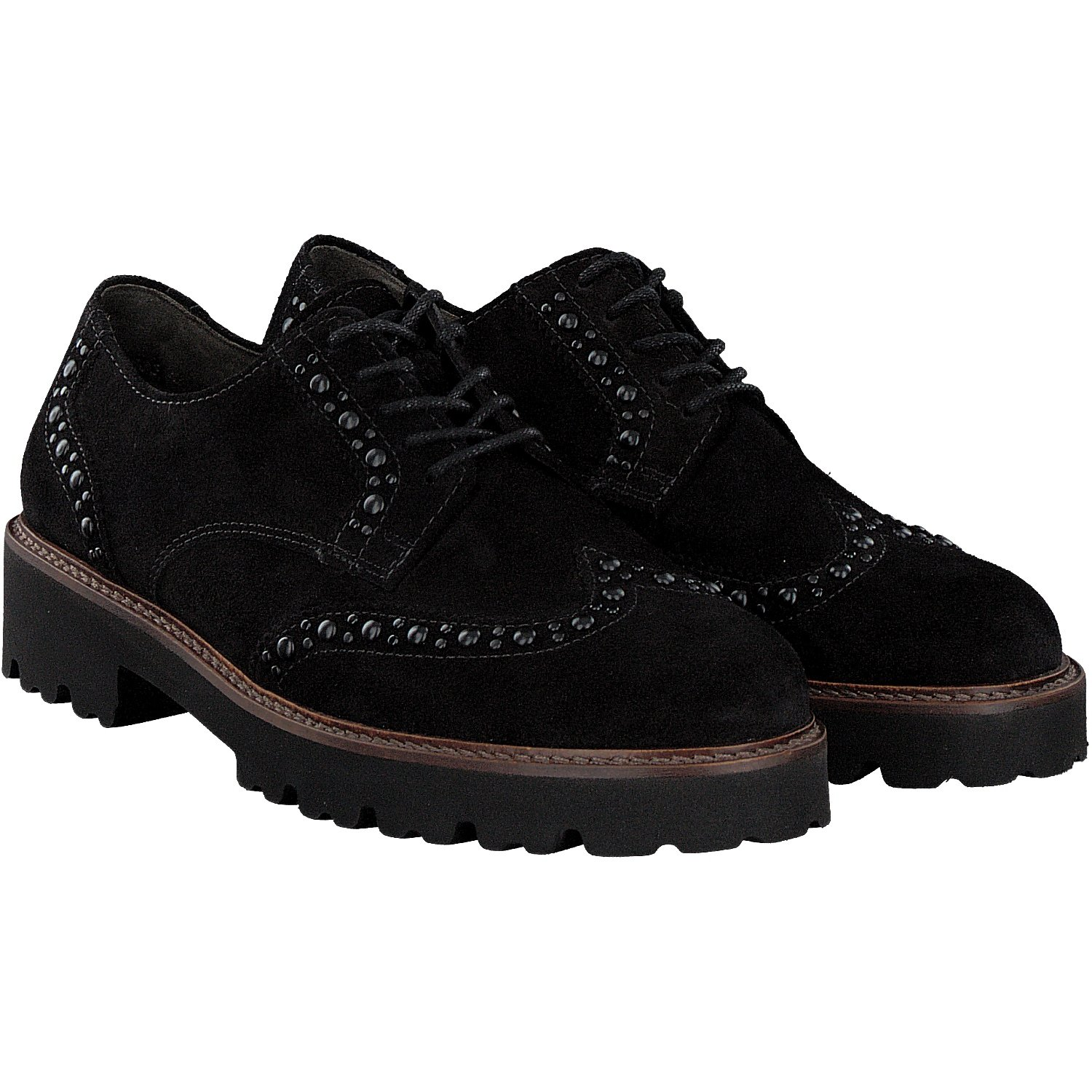 GOODWOOD 5993 GABOR CHUNKY UP LACE GABOR UP SHOE Black ae52bfb - conorscully.space