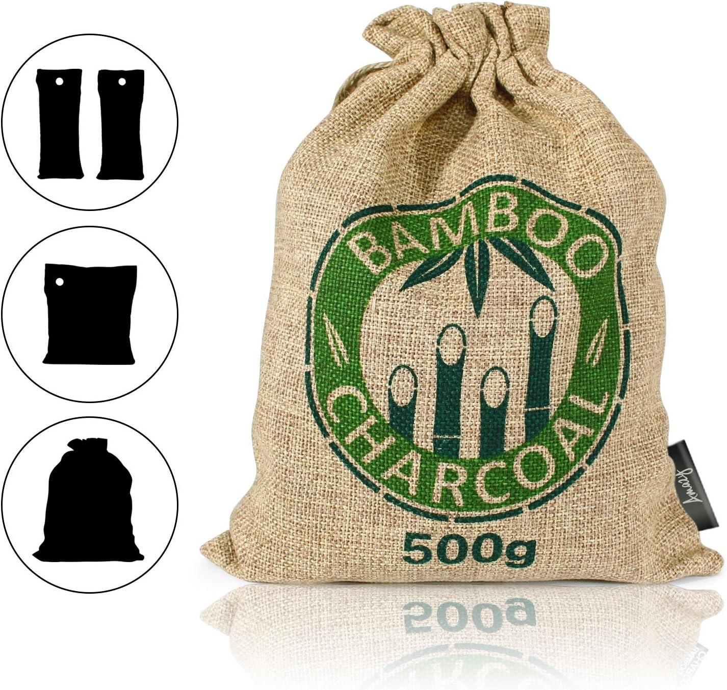 Amazy Bolsa de carbón Activo de bambú – Purificador de Aire de ...