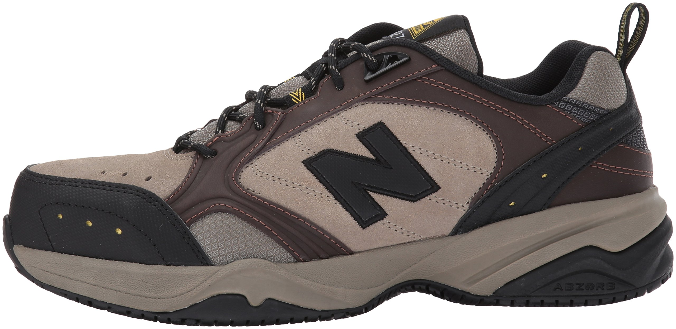 New Balance Men's MID627 Steel-Toe Work Shoe,Brown,18 4E US by New Balance (Image #5)