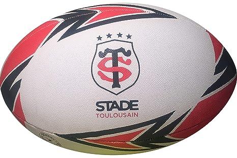 Stade Toulousain - Balón de Rugby Oficial - Gilbert - Talla 5 ...